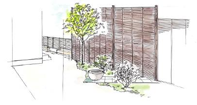 当社の理念は「庭造りを通じて心のやすらぎを提供する」ことです。